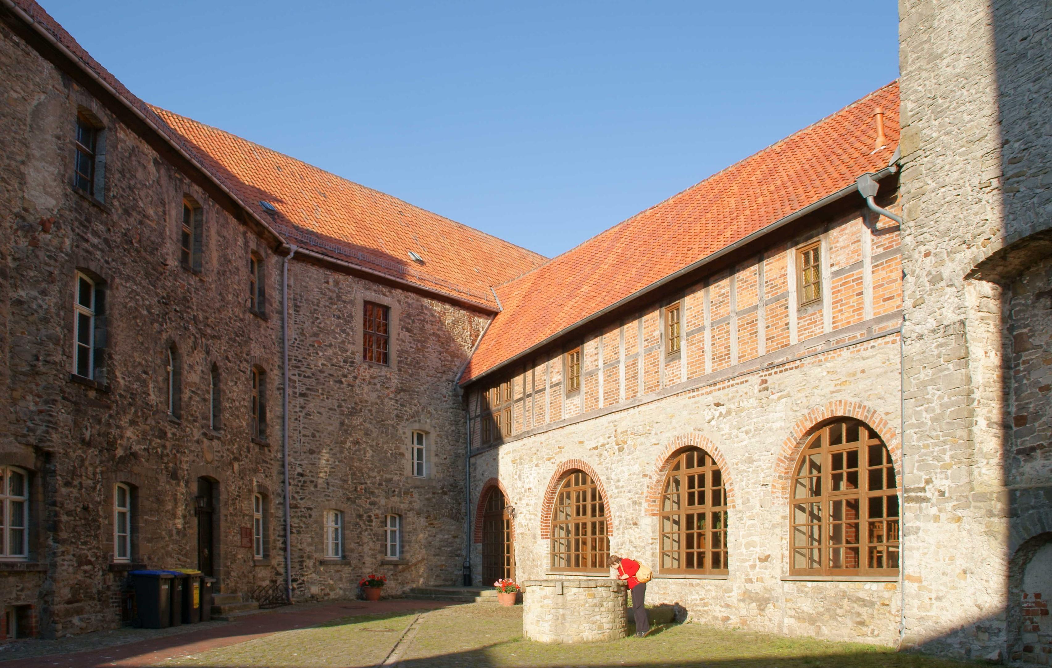 Oebisfelde, Kleiner Burghof