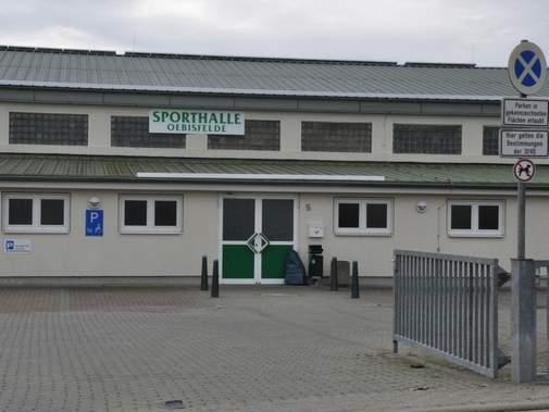 Oebisfelde, Sporthalle am Bahnhof