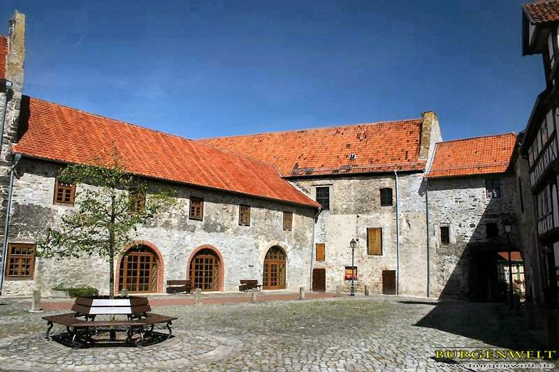 Oebisfelde, Großer Burghof