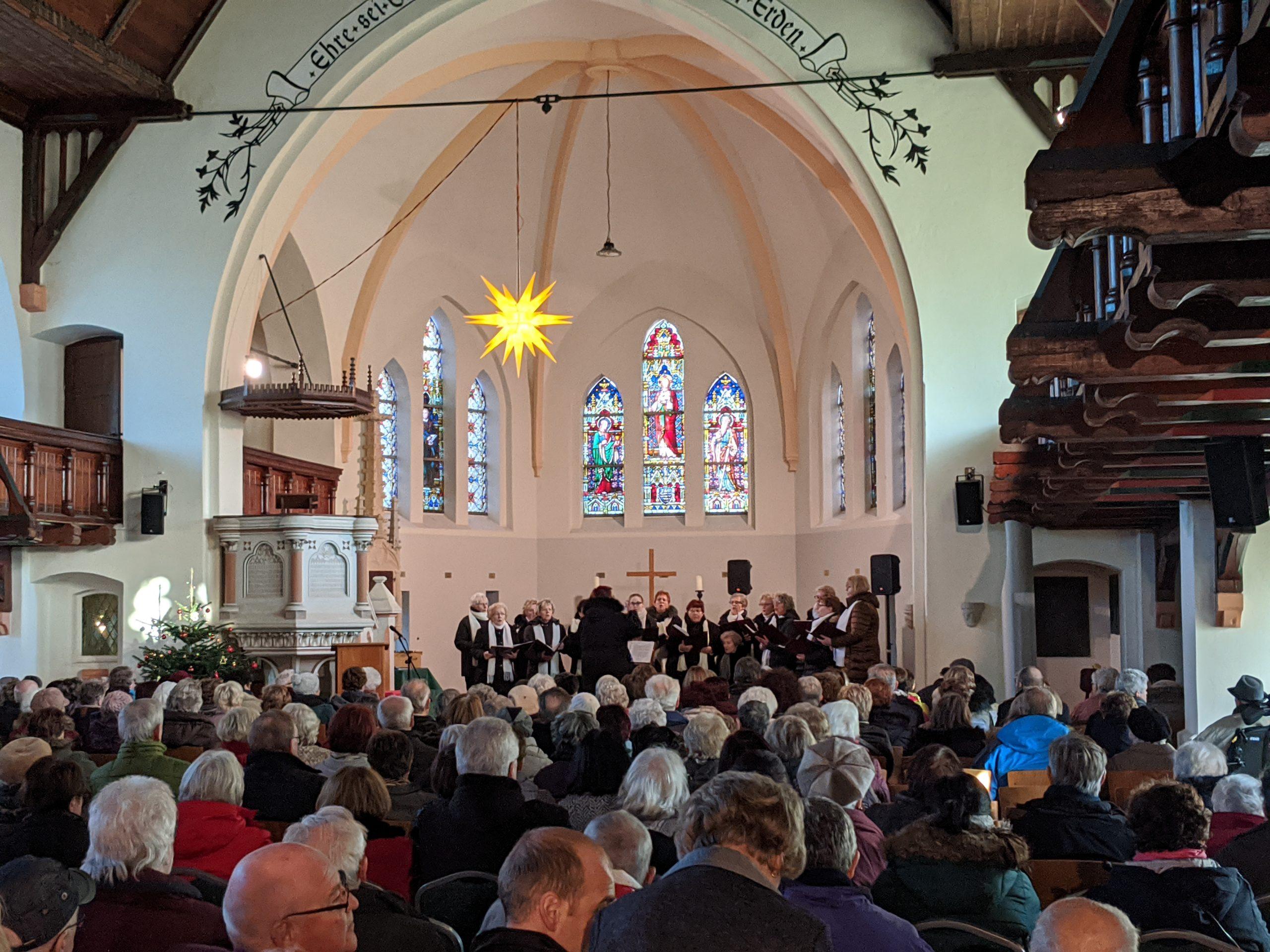 Weihnachtskonzert in der Nicolaikirche